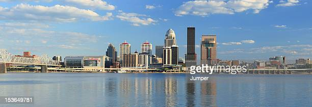 Panorama of Louisville, Kentucky skyline