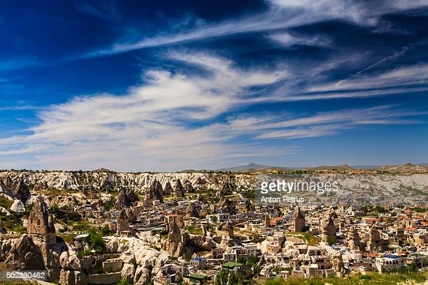 panorama  of love valley. cappadocia, turkey - anton petrus stock pictures, royalty-free photos & images