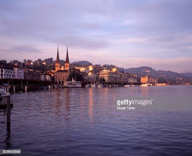 Panorama of Lucerne in Switzerland