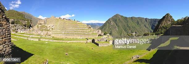 Panorama of Machu Picchu, Peru