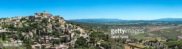 Panorama of medieval village Gordes