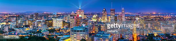Panorama of Montreal