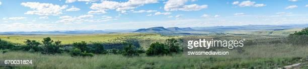 Panorama of Mountain Zebra national park, South Africa