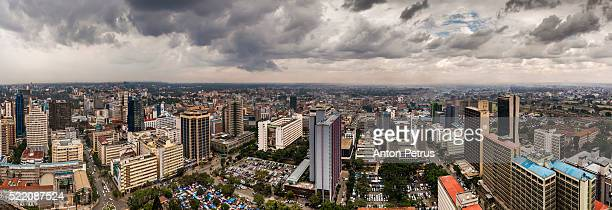 Panorama of Nairobi, Kenya
