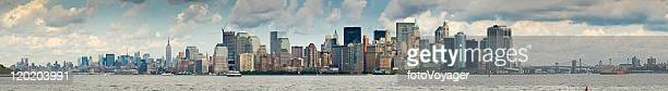 Panorama of New York City and Harbour