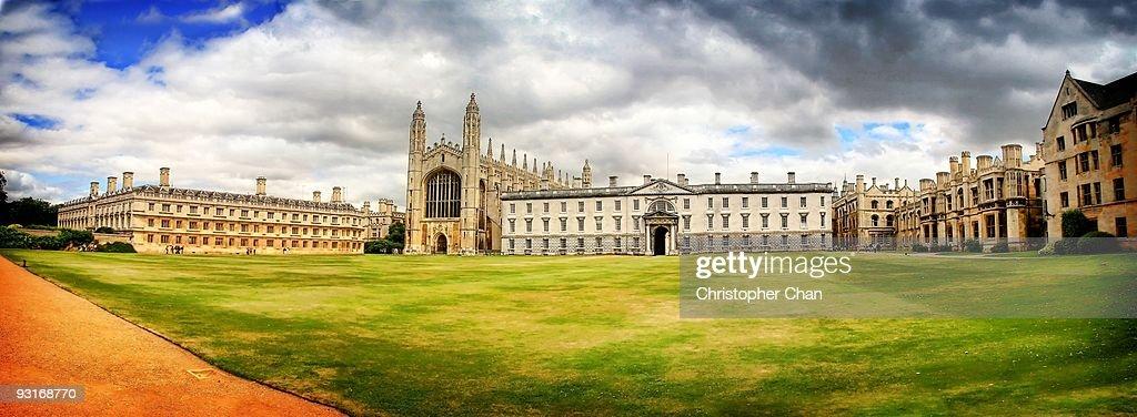 Panorama of Old University : Stock Photo