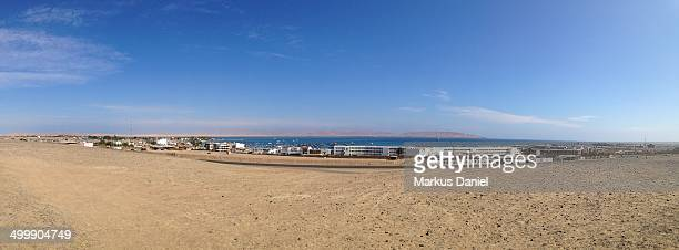 panorama of paracas, peru - markus daniel stock pictures, royalty-free photos & images