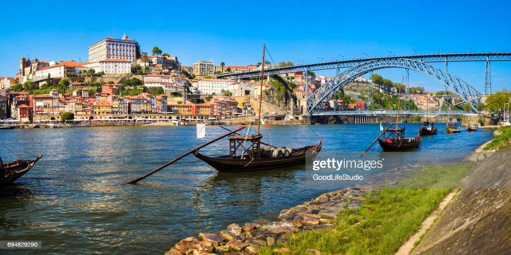 Panorama of Porto : Stock Photo