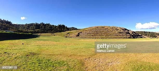 "panorama of saksaywaman in cusco, peru - ""markus daniel"" stock pictures, royalty-free photos & images"