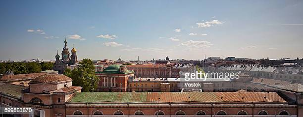 Panorama of St. Petersburg