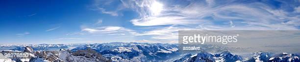 panorama der Schweizer Alpen (XXL