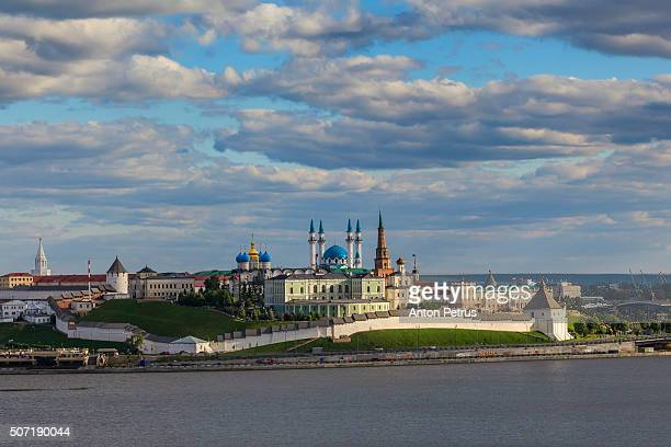 Panorama of the Kazan Kremlin from the Kazanka River