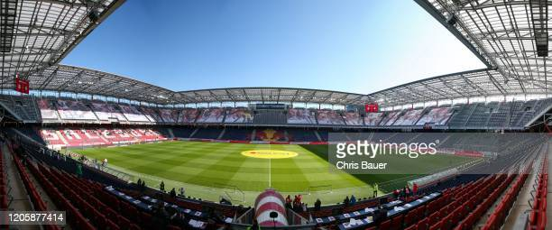 March 8: Panorama of the Red Bull Arena before the tipico Bundesliga match between FC Red Bull Salzburg and SK Puntigamer Sturm Graz at Red Bull...