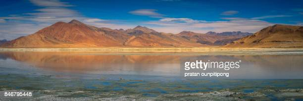 Panorama of Tso Kar Lake