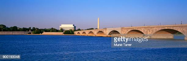 Panorama of Washington along the Potomac River