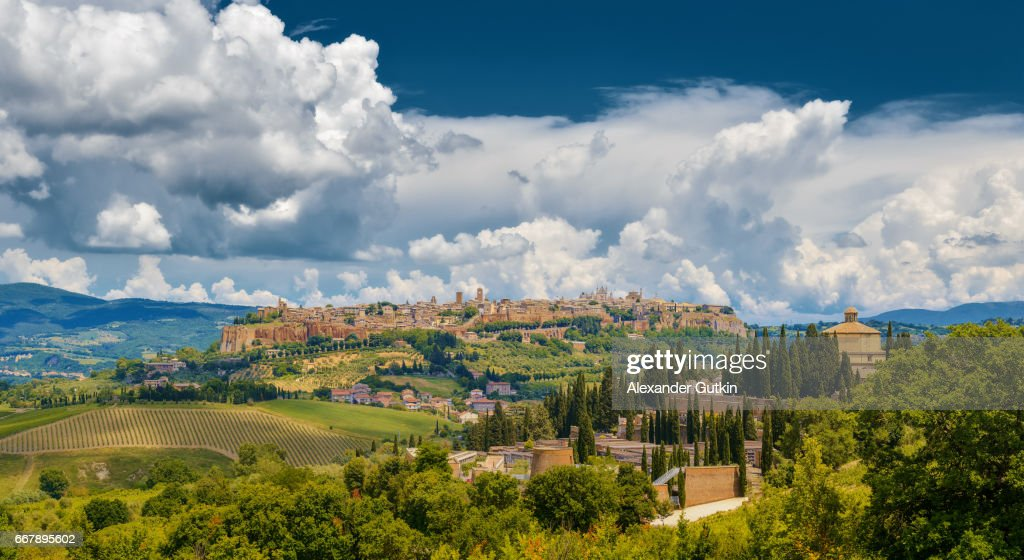 Panorama Orvieto : Stock Photo