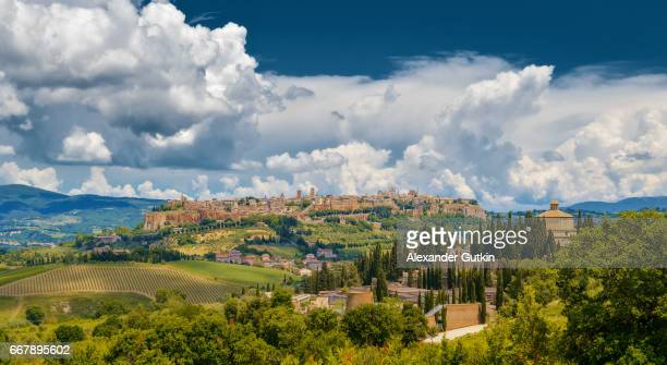 panorama orvieto - orvieto stock pictures, royalty-free photos & images