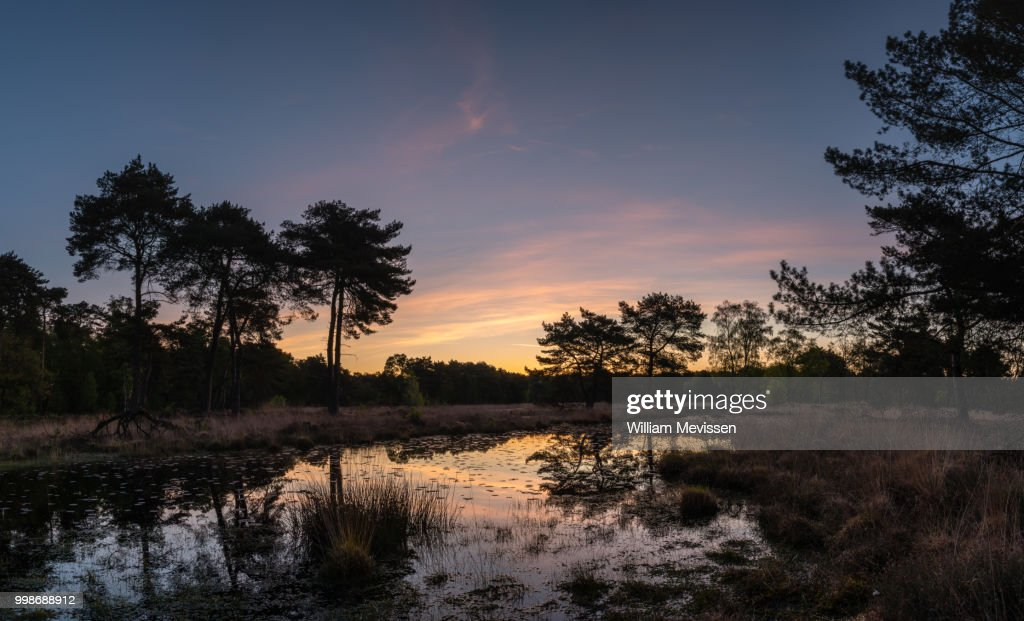 Panorama 'Painted Twilight' : Stockfoto