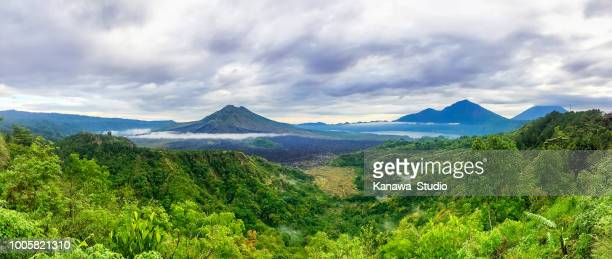 panorama - indonesia photos stock photos and pictures
