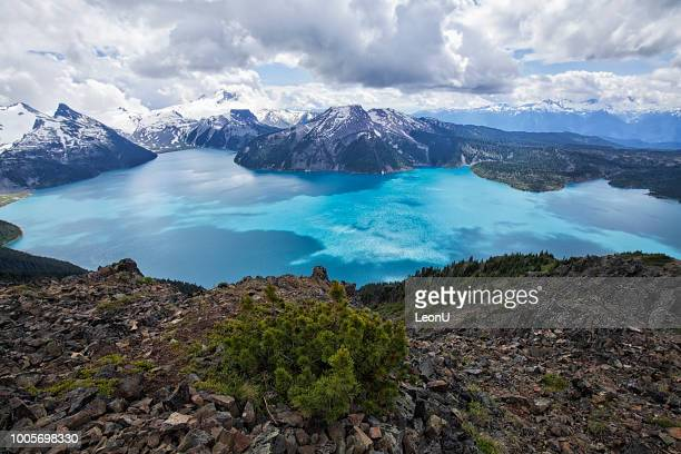 panorama ridge in summer, bc, canada - garibaldi park stock pictures, royalty-free photos & images