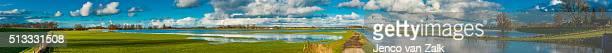 Panorama river IJssel
