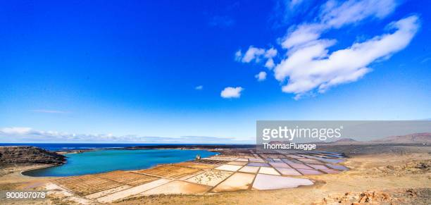 Panorama Salinas de Janubio - Lanzarote
