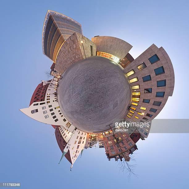 Panorama Sankt-Jakobs-Platz, Munich