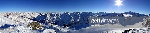 Panorama Tiefenbach-Gletscher