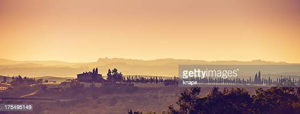 Panorama Tuscany Italy