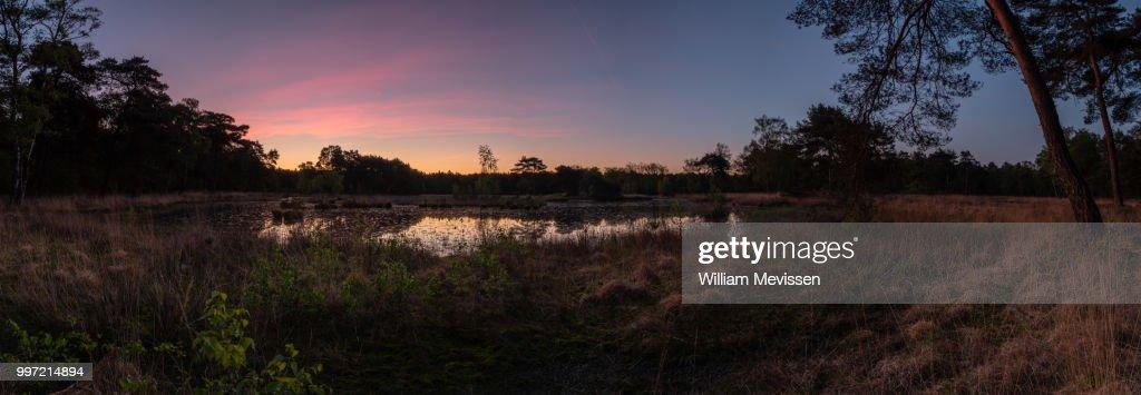 Panorama 'Twilight Circle' : Stockfoto