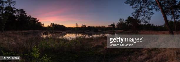 panorama 'twilight circle' - william mevissen stockfoto's en -beelden