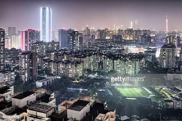 Panorama view Guangzhou