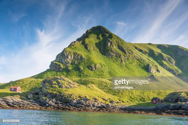 Panorama view Norway, Rost island  Atlantic lofoten island norway