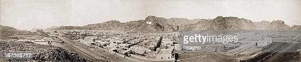 Panorama view of Aden Yemen Photograph About 1885 Panorama von Aden Jemen Photographie Um 1885