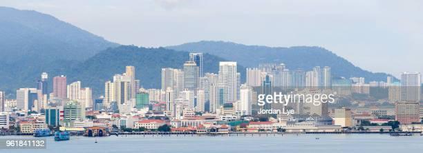 Panorama view of Penang Island 2/3