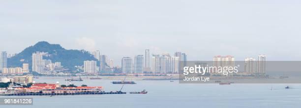 Panorama view of Penang Island 3/3
