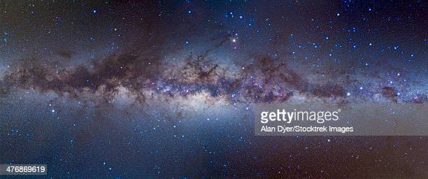 Panorama view of the center of the Milky Way.