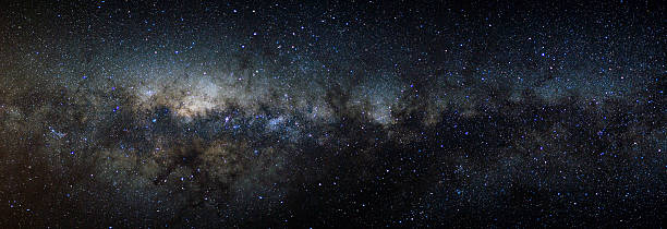Panorama View Of The Milky Way Wall Art