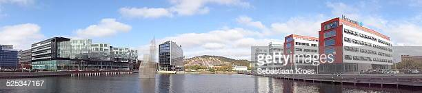 Panorama view on Lindholmen Science Park