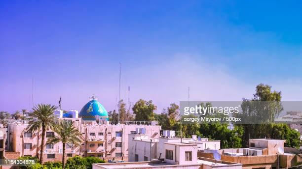 panorama view to baghdad, iraq - バグダッド ストックフォトと画像