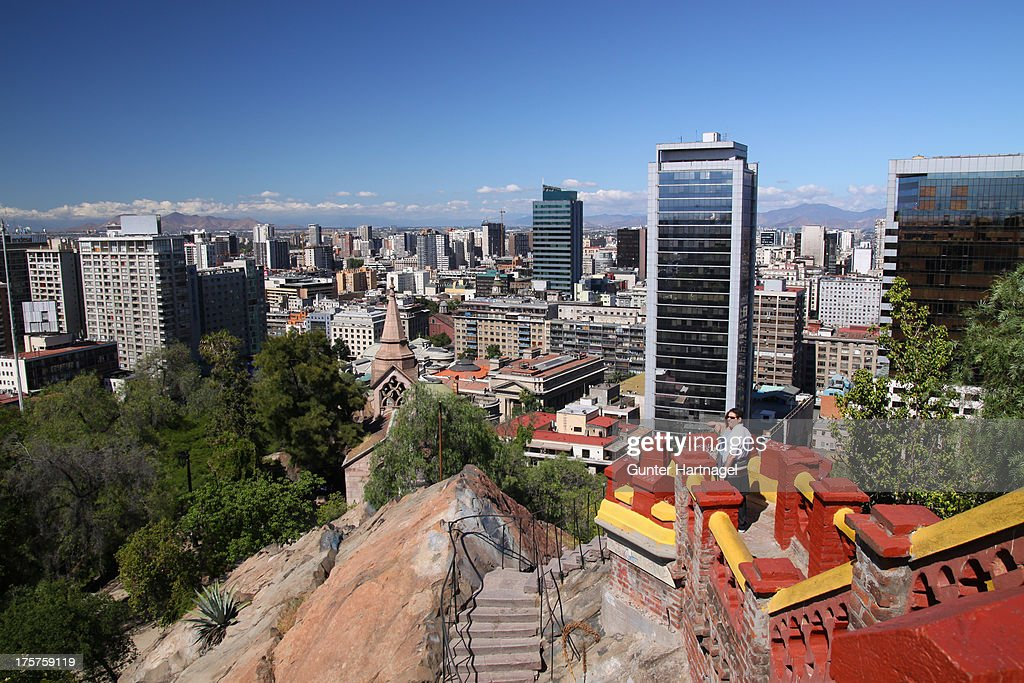 Santiago, Cerro Santa Lucía : News Photo