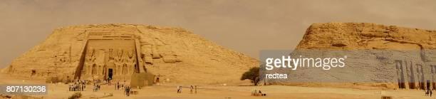 Panorámica Abu Simbel Hathor