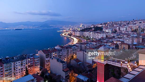 panoramic asansör - izmir stock pictures, royalty-free photos & images