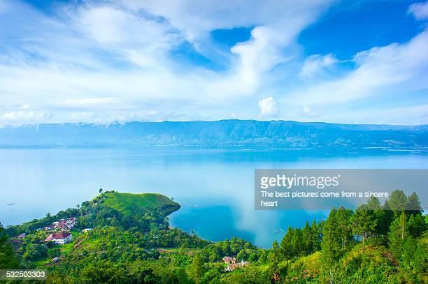 Panoramic at Toba Lake