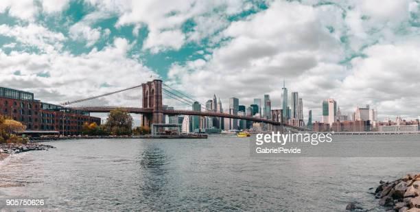 Panoramic Brooklyn Bridge