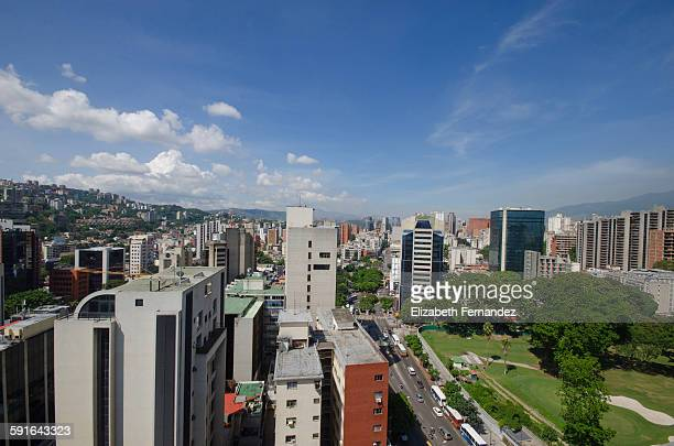 Panoramic Caracas´ view.