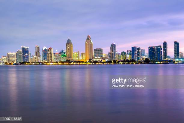 panoramic city skyline in xiamen china,san diego,california,united states,usa - san diego stock pictures, royalty-free photos & images