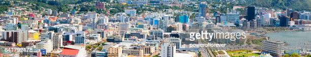 Panoramic Cityscape of Wellington, New Zealand