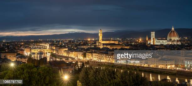 Panoramic cityview, Florence, Italy, Europe