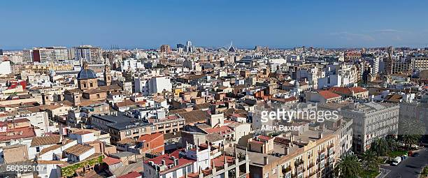 Panoramic format image of Valencia